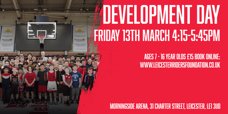 Leicester Riders Junior Development Day tickets