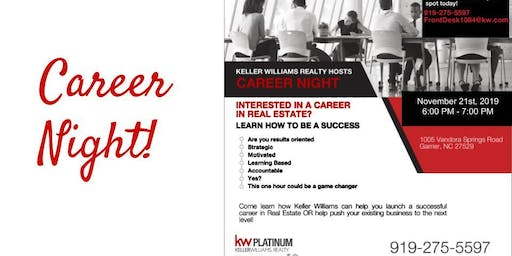Career Night - November 21st