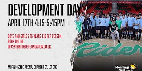 Leicester Riders Junior Development Day tickets