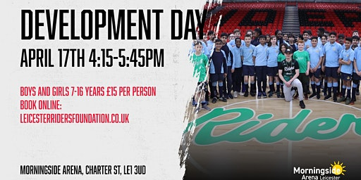 Leicester Riders Junior Development Day