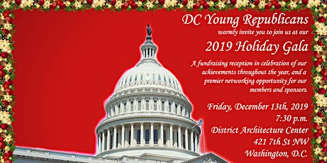 DC Young Republicans 2019 Holiday Gala tickets