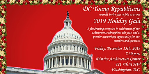 DC Young Republicans 2019 Holiday Gala
