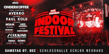Max Madness Indoorfestival • Paderborn Tickets
