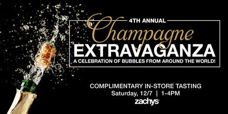 Zachys' Annual Champagne Extravaganza: A Celebration of Bubbles tickets