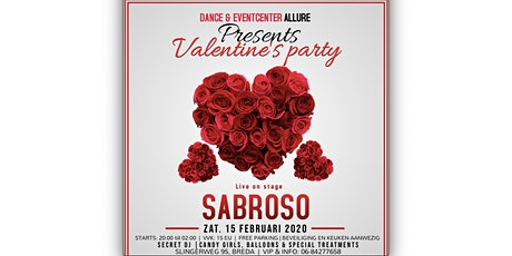 VALENTINE'S PARTY | 15 FEBRUARI 2020 | DANCE EN EVENTCENTER ALLURE tickets