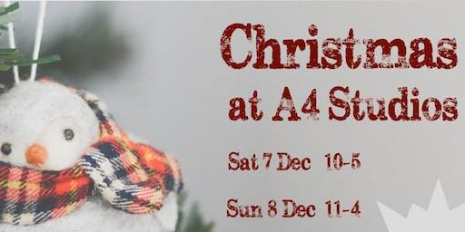 Christmas at A4 Studios