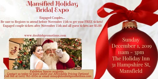Second Annual Mansfield Holiday Bridal Expo