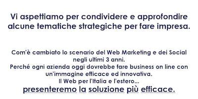 Il Web Marketing per l'Italia e L'Estero, ecco la soluzione