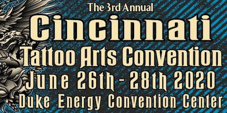 3rd Annual Cincinnati Tattoo Arts Convention  tickets