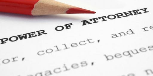 Power of Attorney for Carers