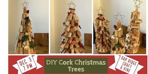 DIY Cork Christmas Tree