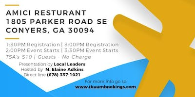 Join us for lunch with ibüümerang!