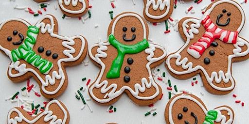 Gingerbread Decorating & Skating With Santa