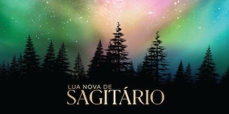 Lua Nova de Sagitário | RJ ingressos