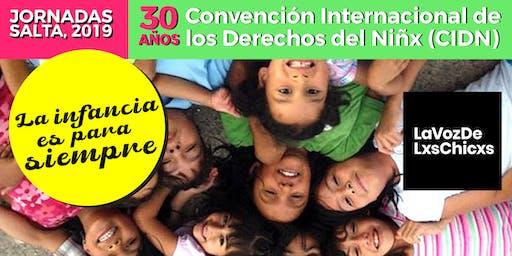 Jornadas #CDN30 LA INFANCIA ES PARA SIEMPRE