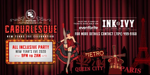 SportsLink Presents: Caburlesque New Year's Eve - NYE