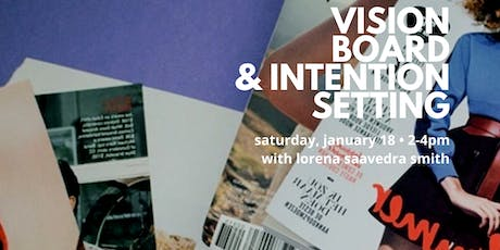 Vision Board & Intention Setting tickets