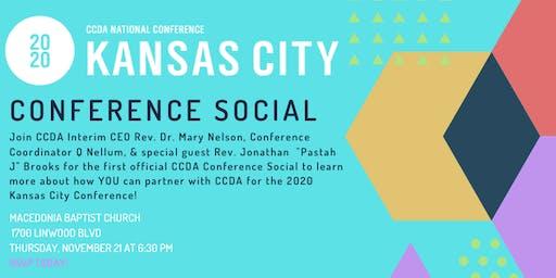 CCDA Conference Social KC