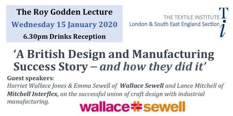 Roy Godden Lecture: 'A British Design and Manufacturing Success Story – and how they did it' tickets