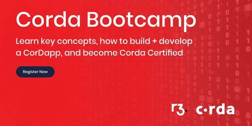 Corda Blockchain Bootcamp - Seattle