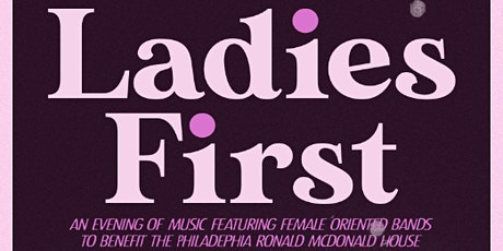 Ladies First tickets