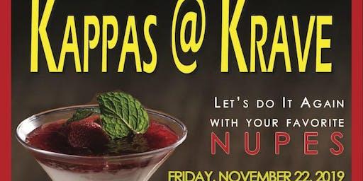 "NRWP ALUMNI Presents ""Kappas @ Krave""  Happy Hour/Networking Mixer"