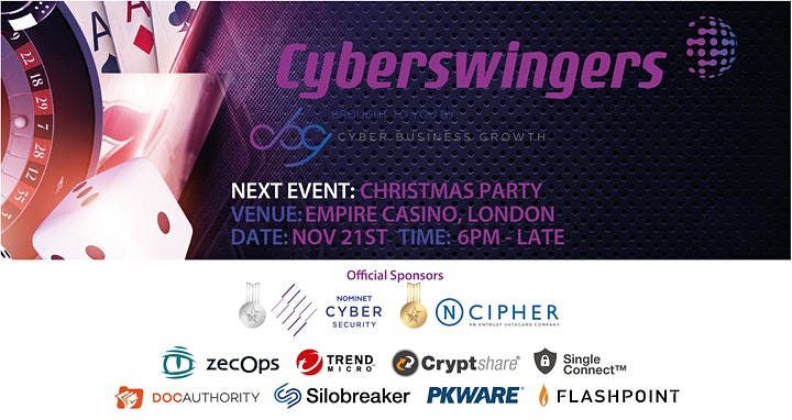 CyberSwingers Networking Event at The Empire Casino image