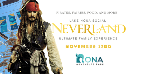 Neverland: Family  Adventure Party