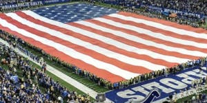 Colts Game & Flag Holding Experience for Indiana HIMSS...