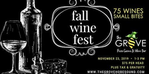 Fall Wine Fest