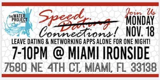 Speed Dating/Connections Fundraiser for clean water in the Bahamas