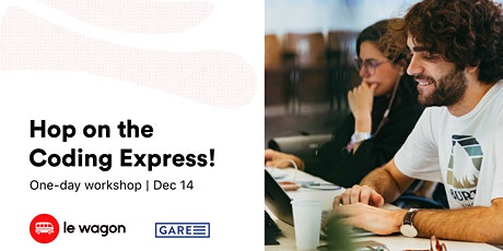 Hop on the coding express tickets