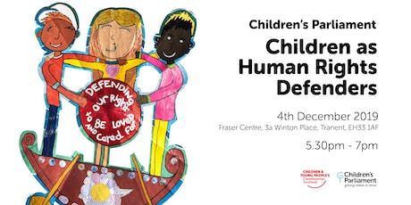 Children as Human Rights Defenders: Film Premiere and Celebration tickets