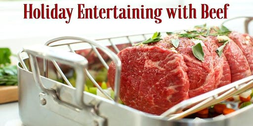 Holiday Entertaining with Beef