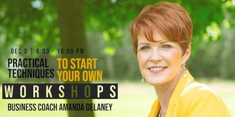 Start Your Own Workshop tickets