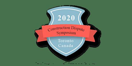 2020 Construction Dispute Symposium tickets