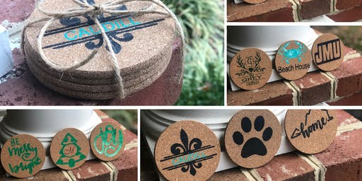 Personalized Cork Coaster Workshop at Old 690 Brewing Company