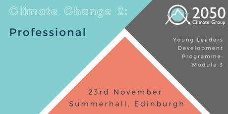 YLDP - Module 3: Climate Change - Professional Sphere tickets