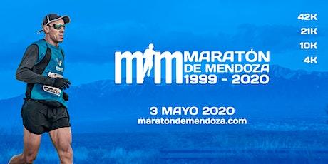 MARATONA DE MENDOZA - 2020 entradas