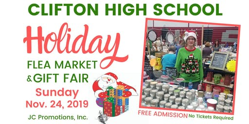 Clifton High School Holiday Flea Market & Gift Fair