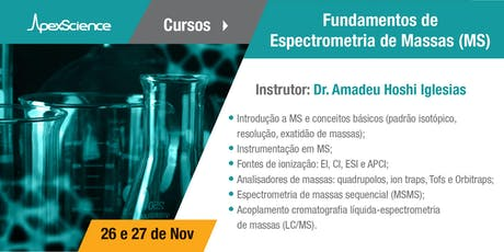 Curso: Fundamentos de Espectrometria de Massas ingressos