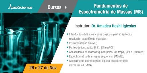 Curso: Fundamentos de Espectrometria de Massas