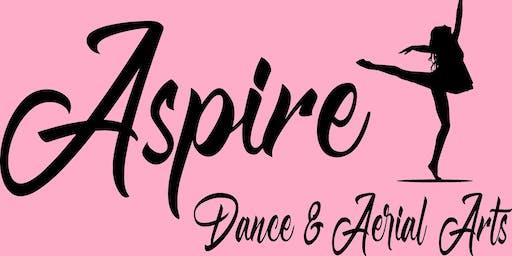 Aspire Arts - Acro-Jazz & Aerial Silks - Age 5-6