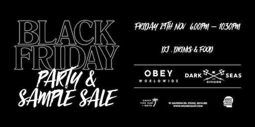 Black Friday Party & Sample Sale at Coast - DJ, Drinks & Food!