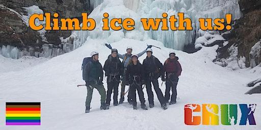 CRUX LGBTQ Climbing - Ice Climbing Trip