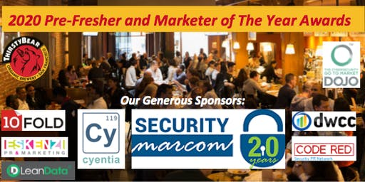 RSA2020 Marketer's PreFresher Happy Hour & Marketer of the Year Awards
