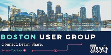 Boston Alteryx User Group Q4 2019 Meeting tickets