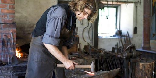 Intermediate Blacksmithing - HOLIDAY ON THE FARM WORKSHOP FESTIVAL