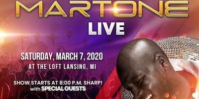 Martone 'The Erogenous Zone Tour'