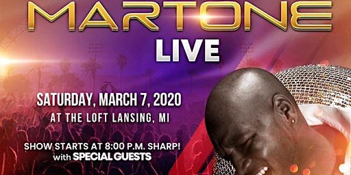 Martone 'The Erogenous Zone Tour'